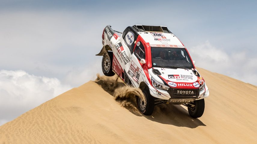 """Cambio de """"arenas"""" en el Rally Dakar 2020"""