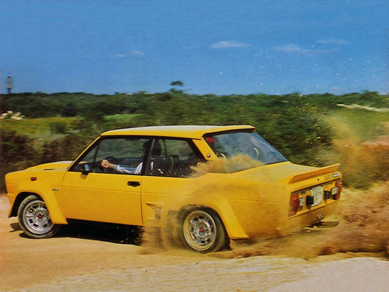 Fiat 131 Abarth Road Rally 3