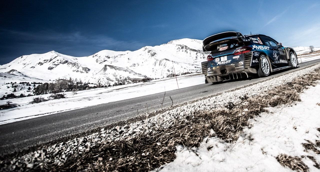 Ford Fiesta WRC Rally De Montecarlo