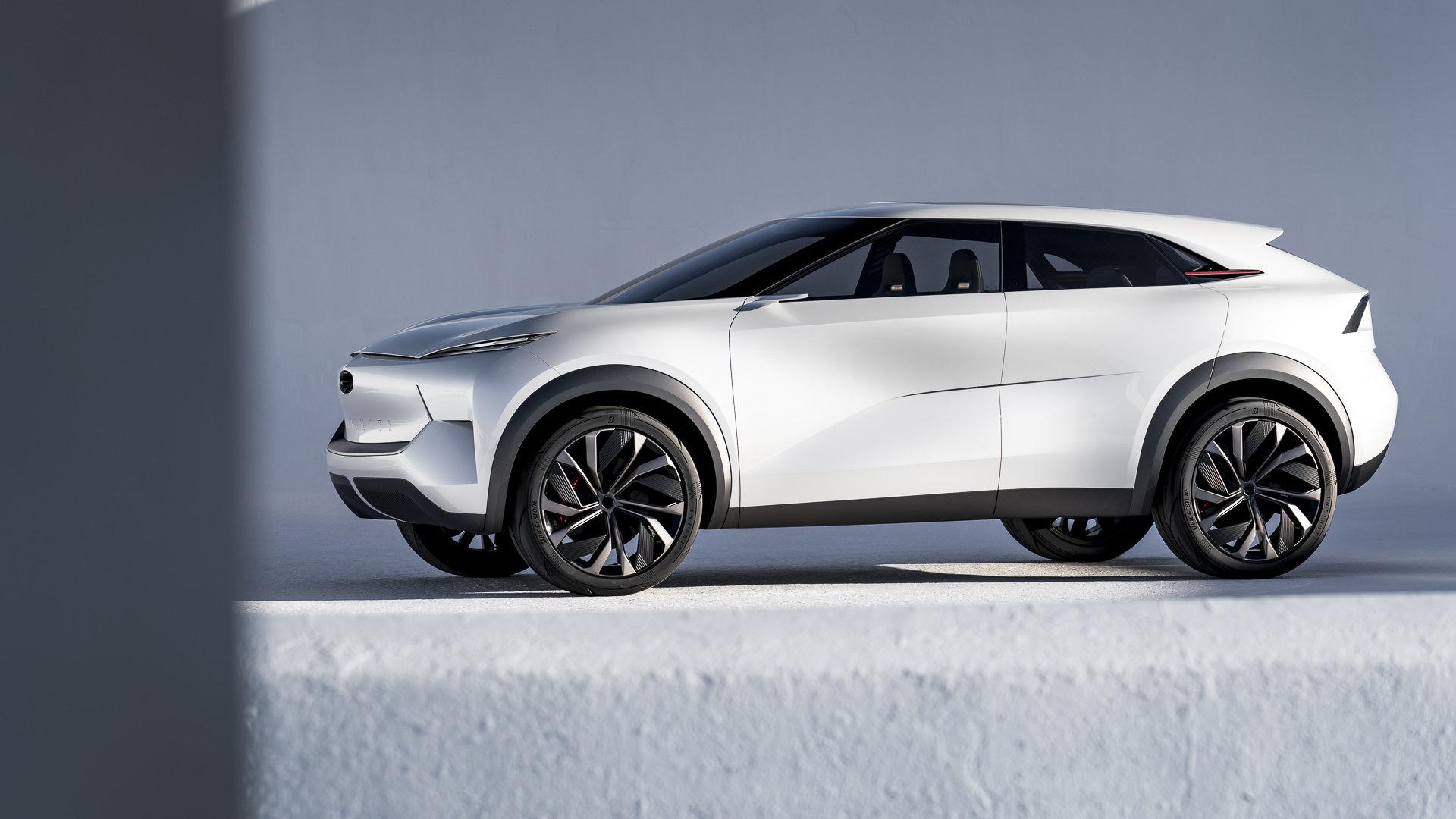El Infiniti QX Inspiration Concept anticipa el futuro eléctrico de la marca