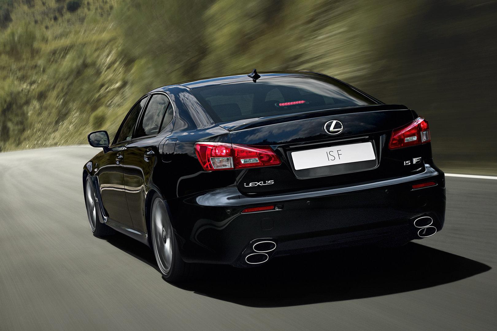 El Lexus IS F ya se esperará a la siguiente generación