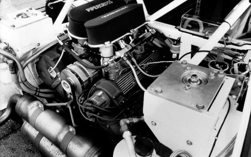 MG Metro 6R4 Motor