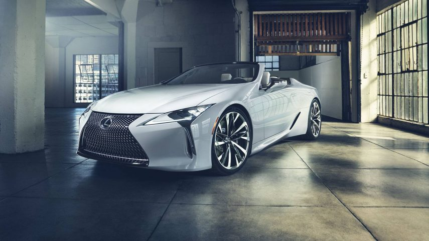 Lexus presenta en Detroit el LC descapotable y el RC F Track Edition