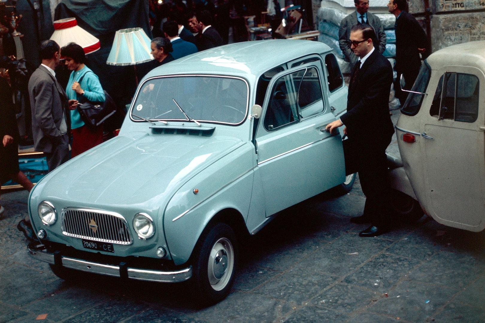 Coche del día: Renault 4