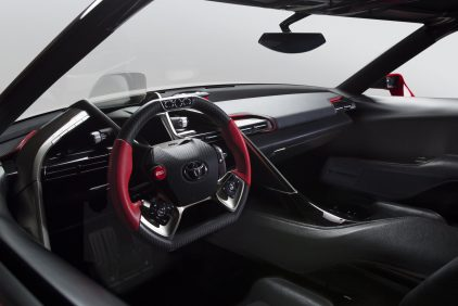 Toyota FT 1 Concept Interior