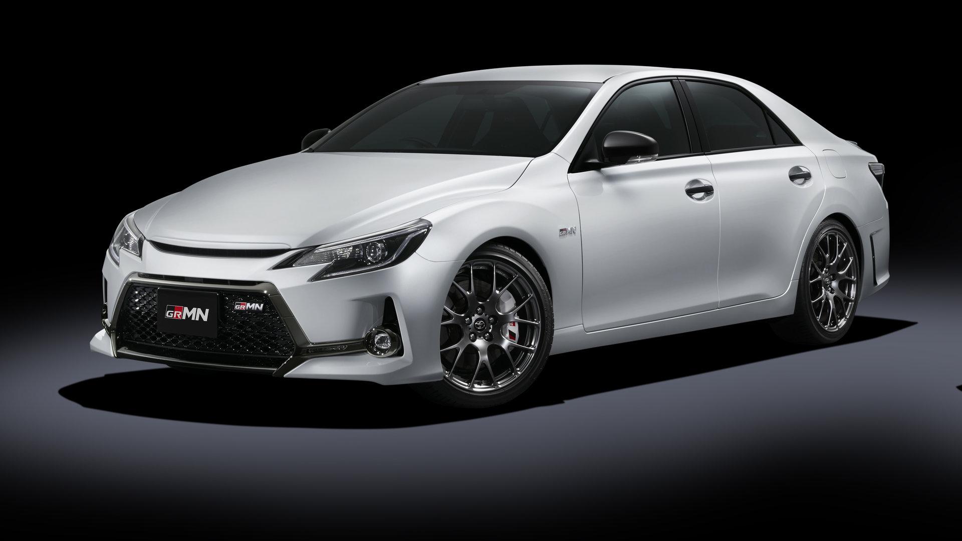 Toyota Mark X GRMN: la berlina de Aichi que desearás tener en tu garaje