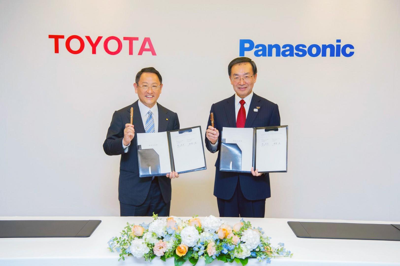 Toyota y Panasonic formarán una alianza para fabricar baterías