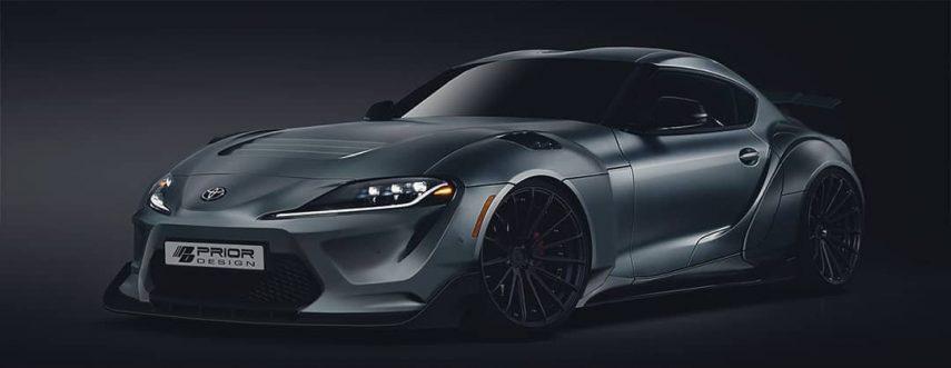 El Toyota Supra A90 tendrá su primer kit de carrocería