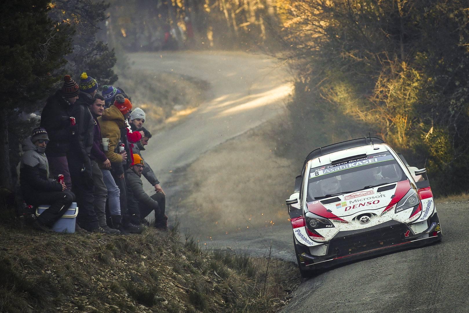Toyota Yaris WRC Rally De Montecarlo