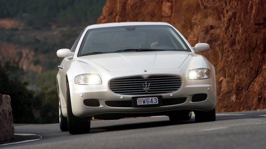 Coche del día: Maserati Quattroporte (M139)