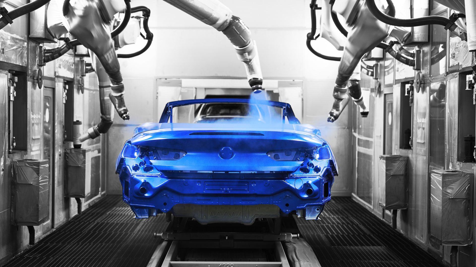 Cómo se fabrica un automóvil en serie (IV): Pintura