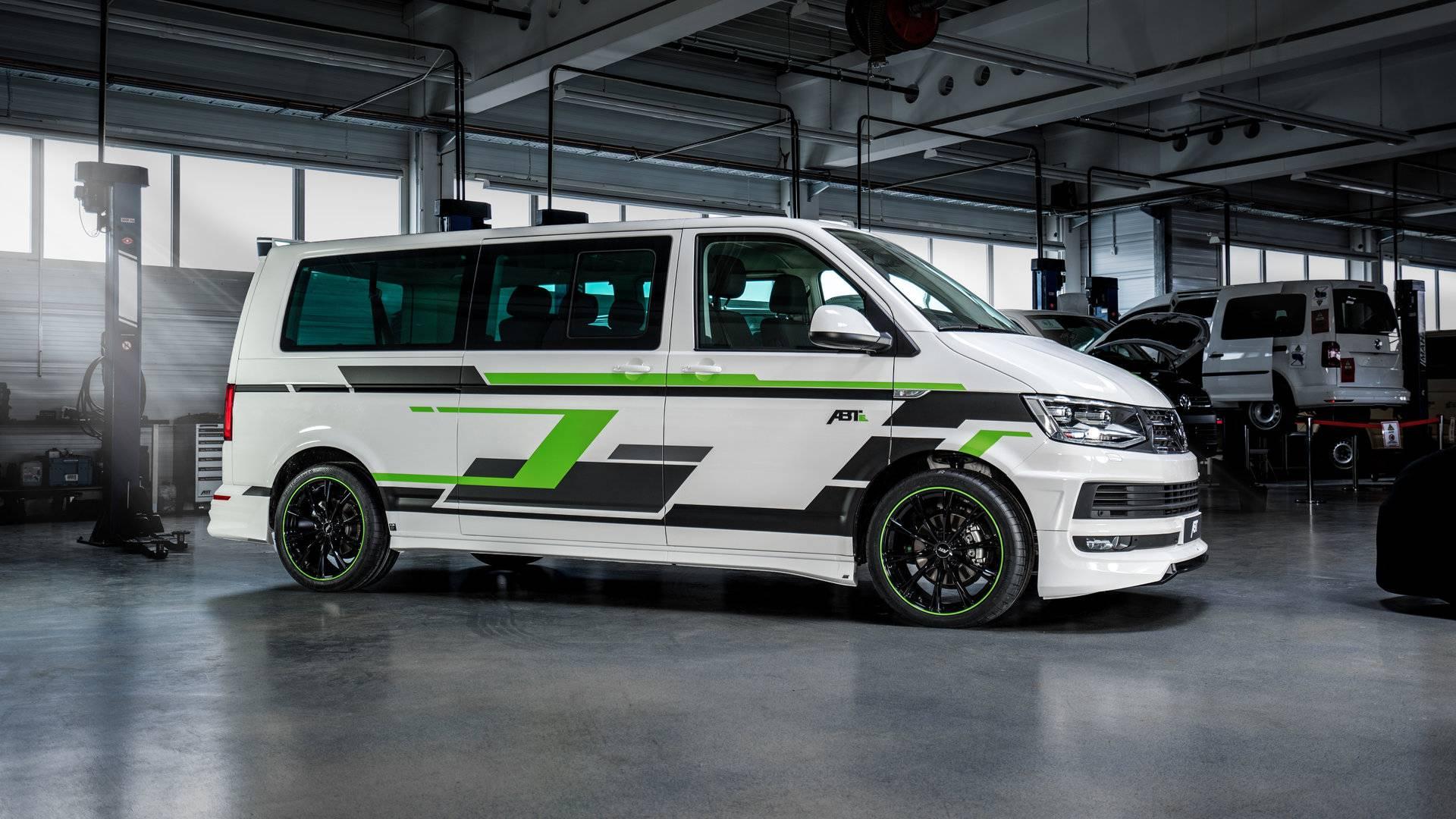 ABT Volkswagen e-Transporter: concesiones a la deportividad con cero emisiones