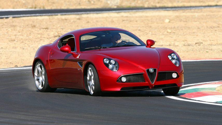 Coche del día: Alfa Romeo 8C Competizione