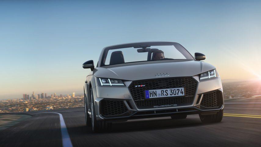 El Audi TT RS vuelve a la carga