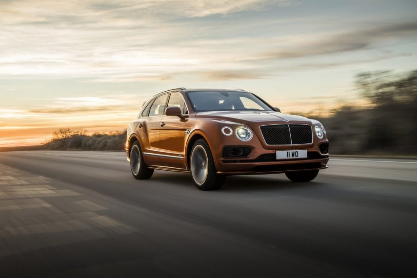 Bentley Bentayga Speed, el SUV más rápido del mercado