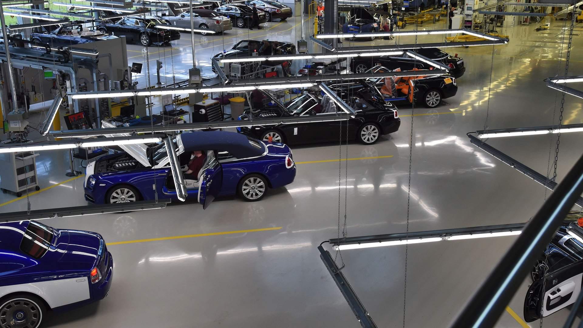 Fabrica De Rolls Royce