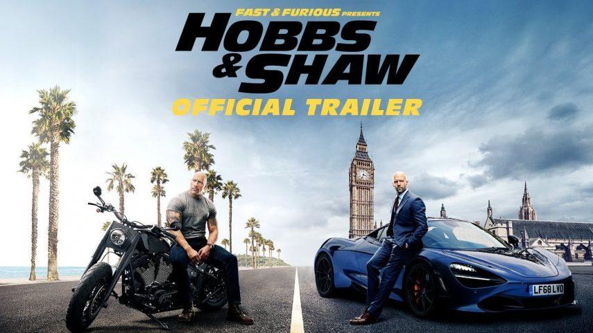 """""""Fast & Furious: Hobbs & Shaw"""" hace aparación en su primer tráiler"""