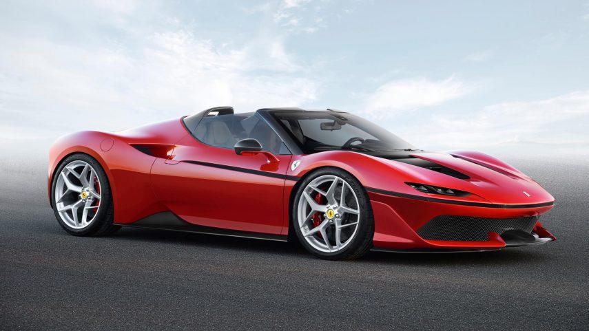 Uno de los diez exclusivos Ferrari J50 acaba de venderse