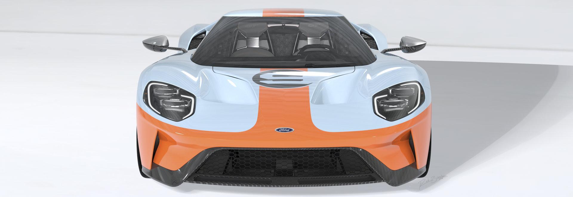 A vueltas con las subastas del Ford GT