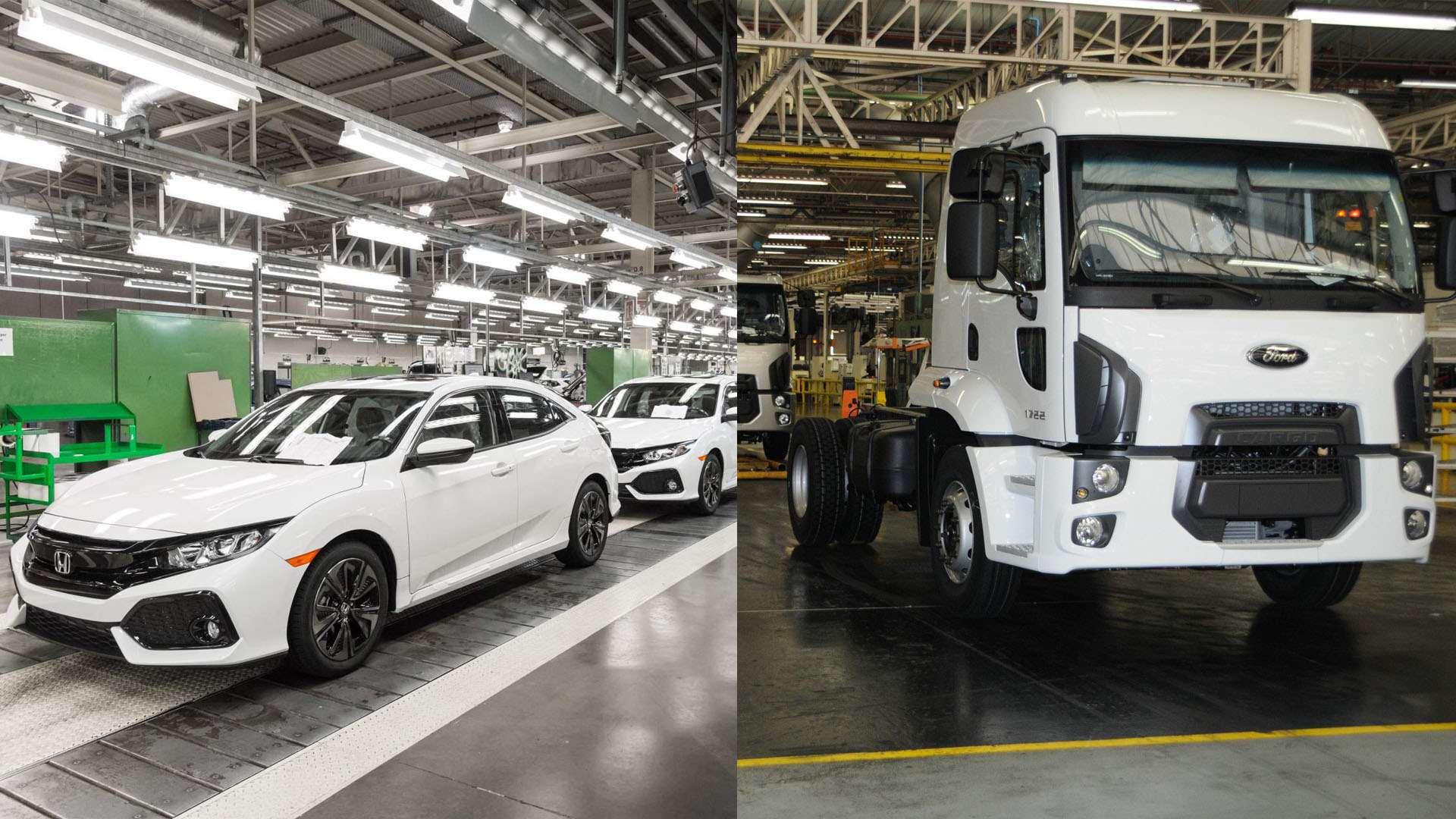 Ford cierra su planta de Brasil y Honda la de Reino Unido