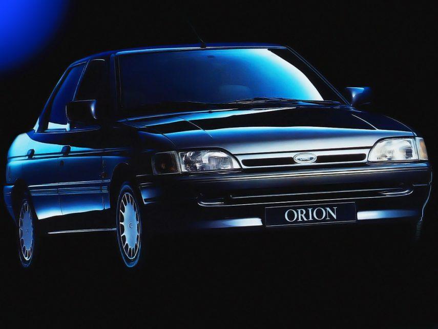 Coche del día: Ford Orion 1.8 16v Ghia