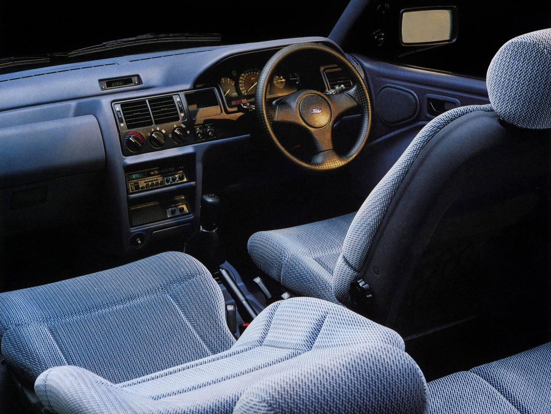 Ford Orion Interior RHD