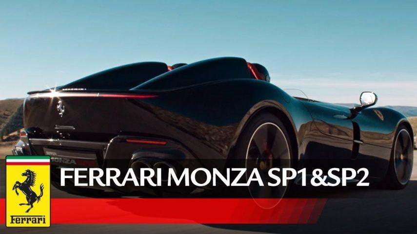 Ferrari Monza SP1 y SP2, auténtico placer sensorial