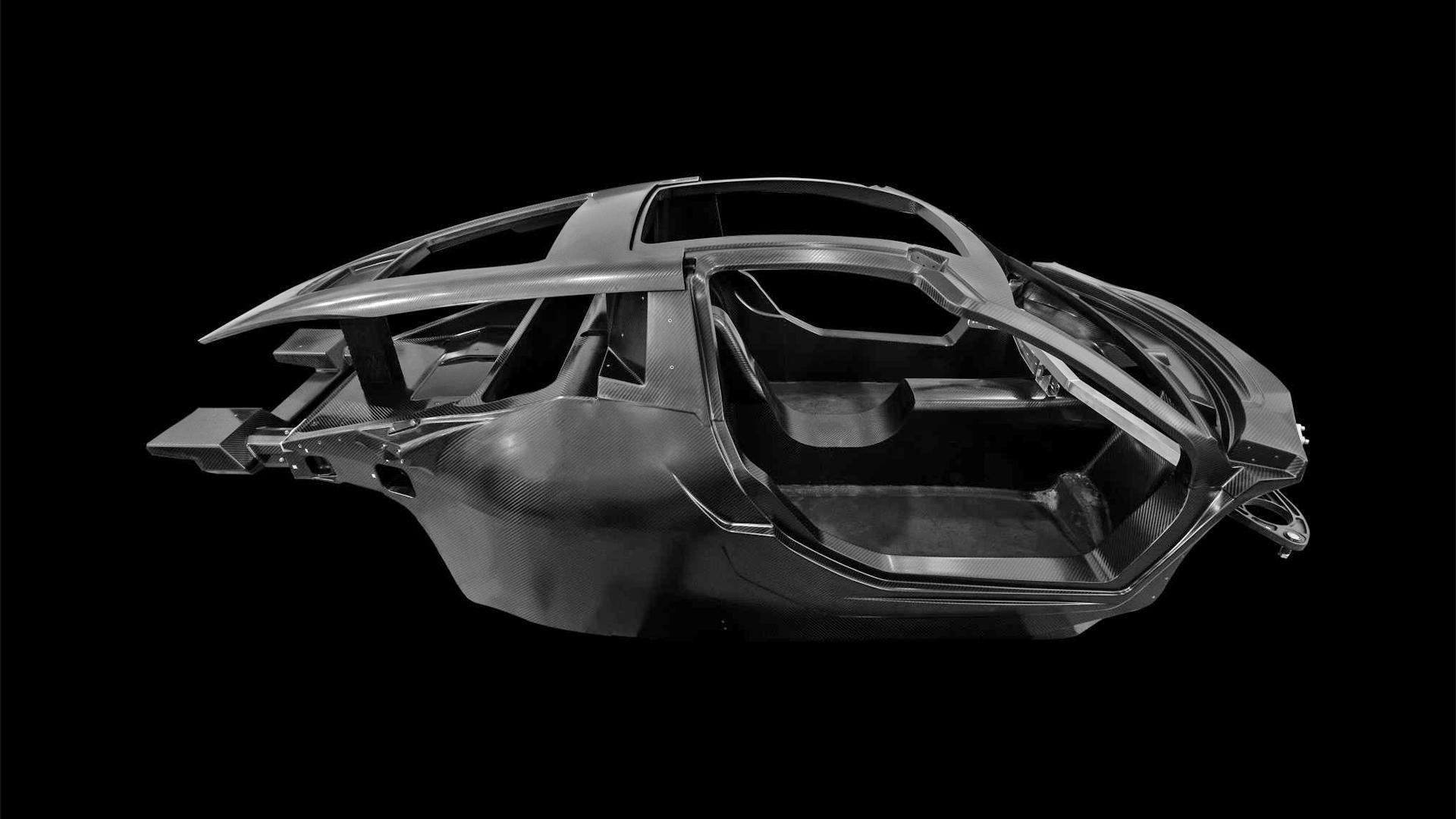 Hispano Suiza Carmen Carbon Fibre Monocoque