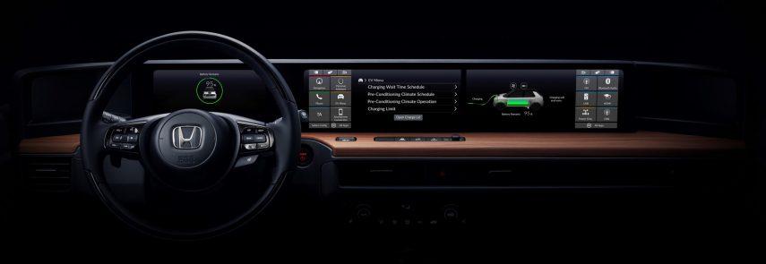 El Honda e Prototype nos enseña su interior