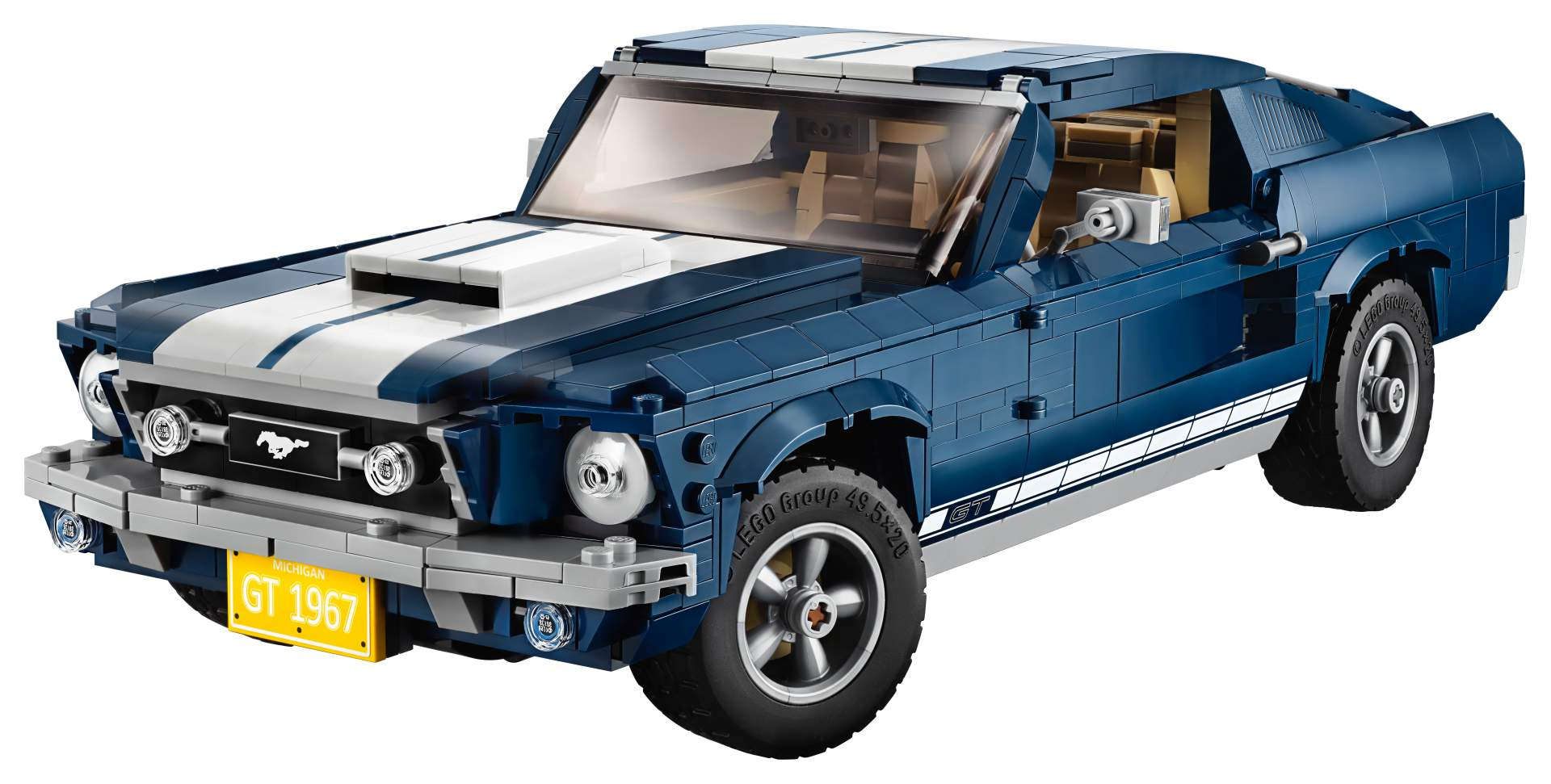 LEGO Ford Mustang Fastback 1967 16