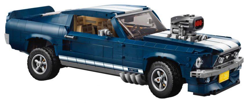 LEGO 1967 Ford Mustang Fastback: lo desearás en tu habitación