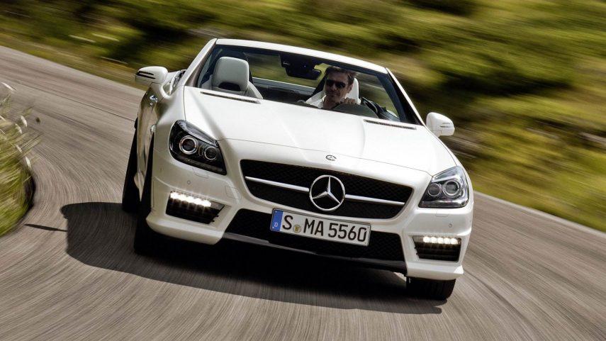 Coche del día: Mercedes-Benz SLK 55 AMG