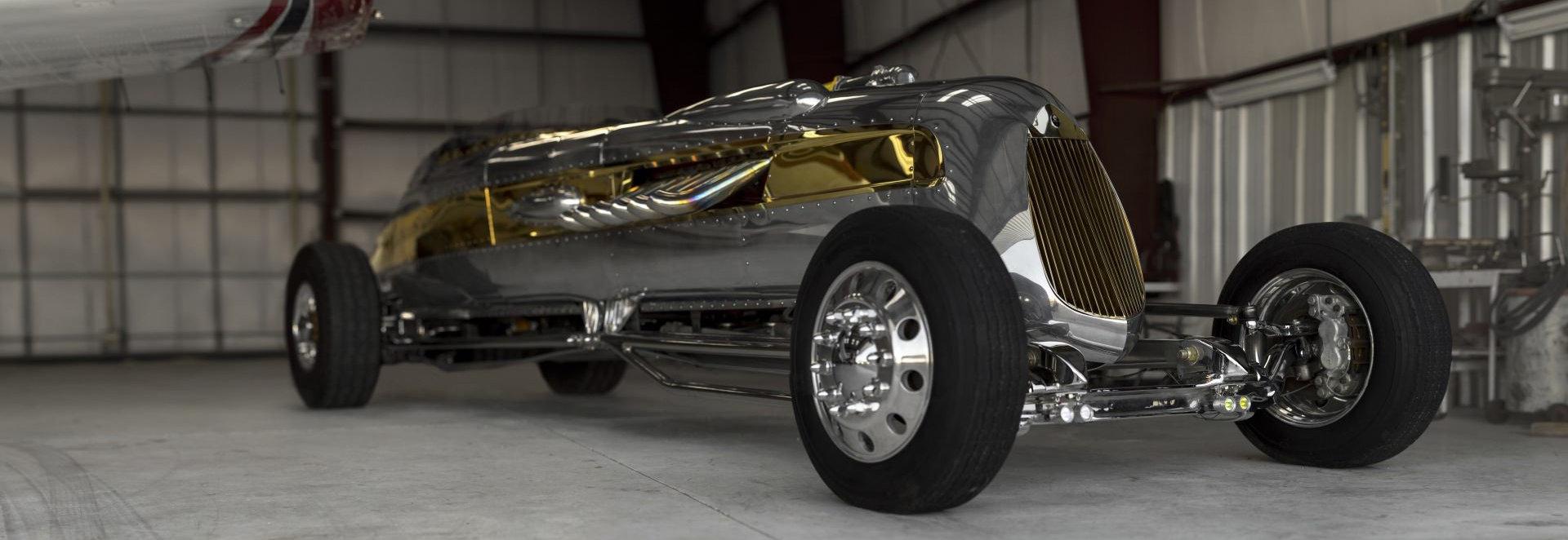 Coche del día: Packard Royal V12 Streamliner Roadster