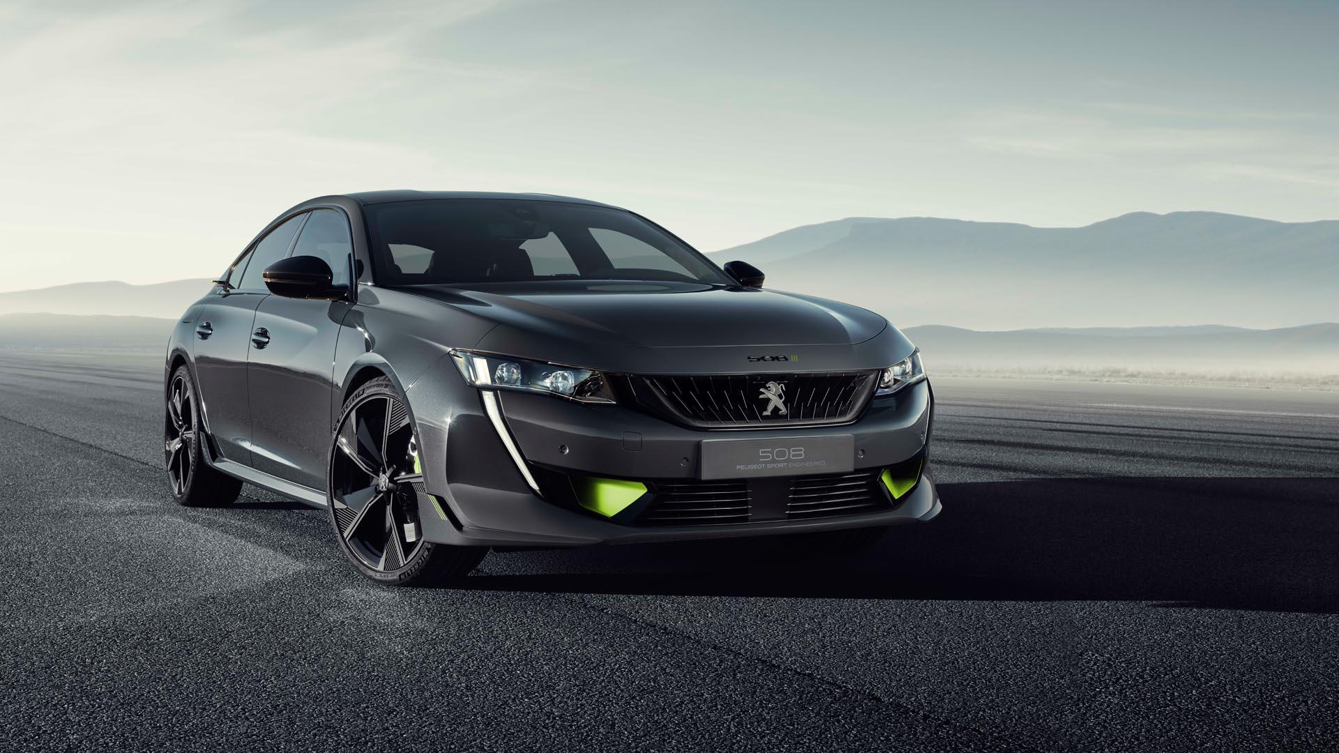 El Peugeot 508 PSE llegará en otoño de 2020