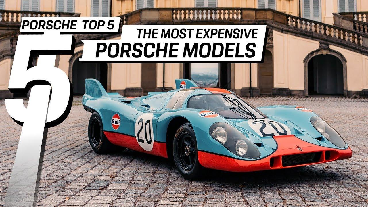 Porsche Top 5: Los Porsche más caros de la historia