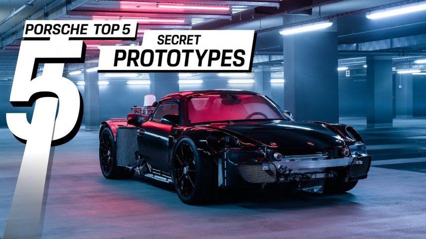 Los cinco prototipos más secretos de Porsche