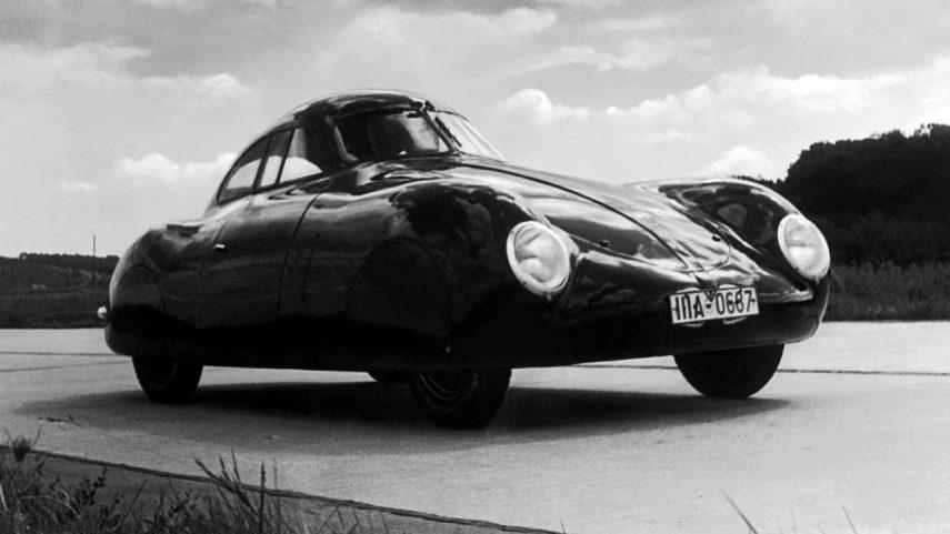 Así fue el intento de subasta del primer Porsche de la historia