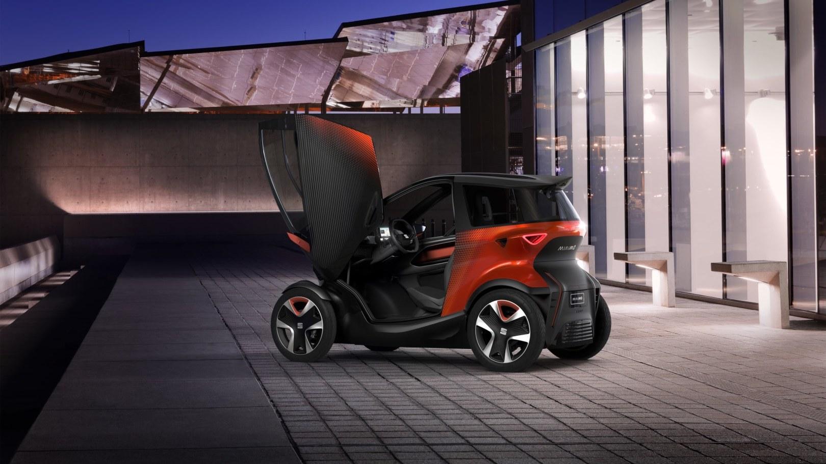 SEAT Minimó: 100% eléctrico y 100% urbano