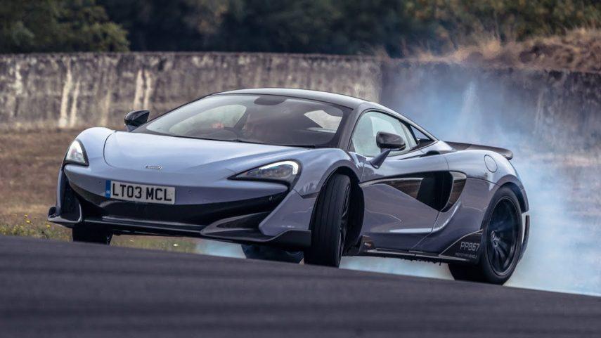Chris Harris prueba el McLaren 600LT