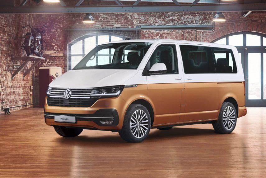Volkswagen actualiza Transporter y Multivan
