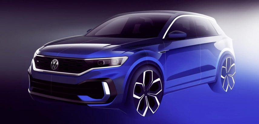Volkswagen T-Roc R, novedad en el salón de Ginebra