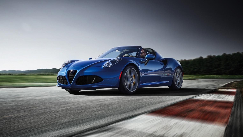 2020 Alfa Romeo 4C Spider Italia, solo para EEUU