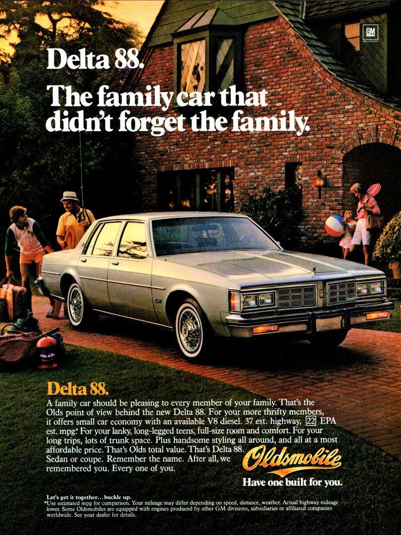 1983 Oldsmobile Delta 88 Publicidad
