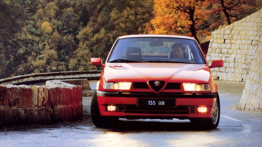 Coche del día: Alfa Romeo 155 Q4