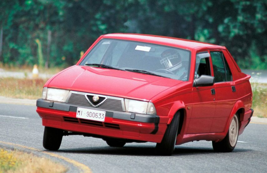 Coche del día: Alfa Romeo 75 3.0 6V América