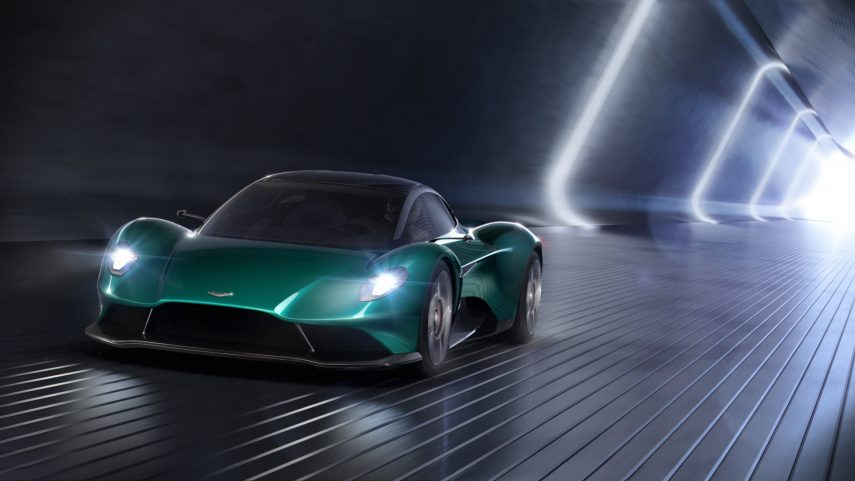 """El Aston Martin Vanquish Vision Concept anticipa el nuevo tope de gama """"sin unidades limitadas"""""""