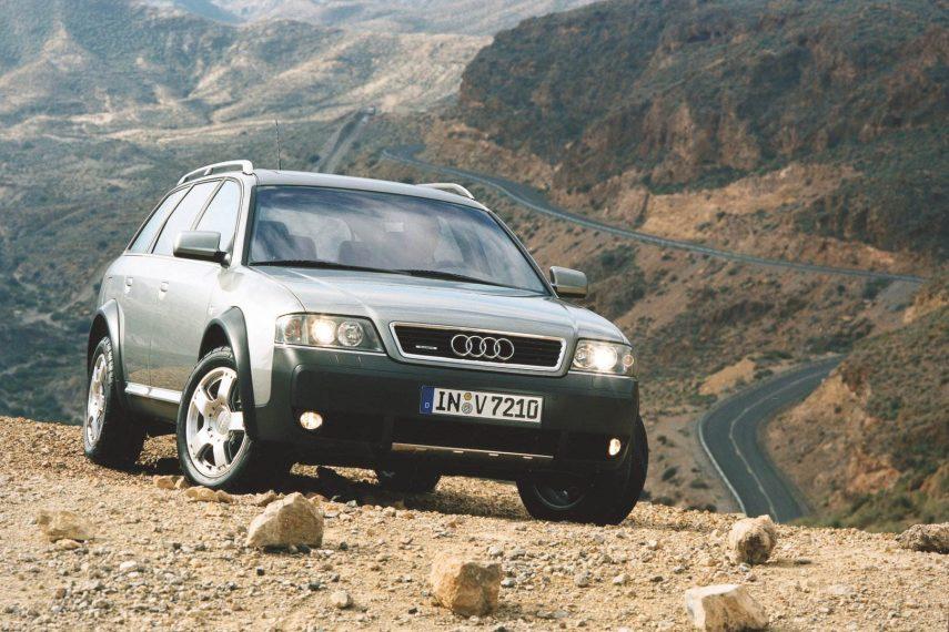 Coche del día: Audi Allroad Quattro