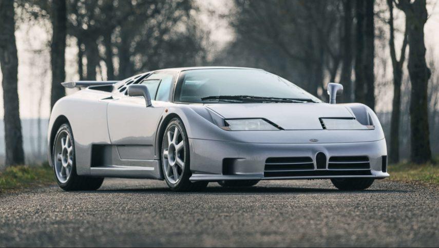 El último Bugatti EB110 SS construido puede ser tuyo