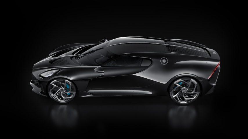 """Bugatti """"La Voiture Noire"""", único en su especie"""