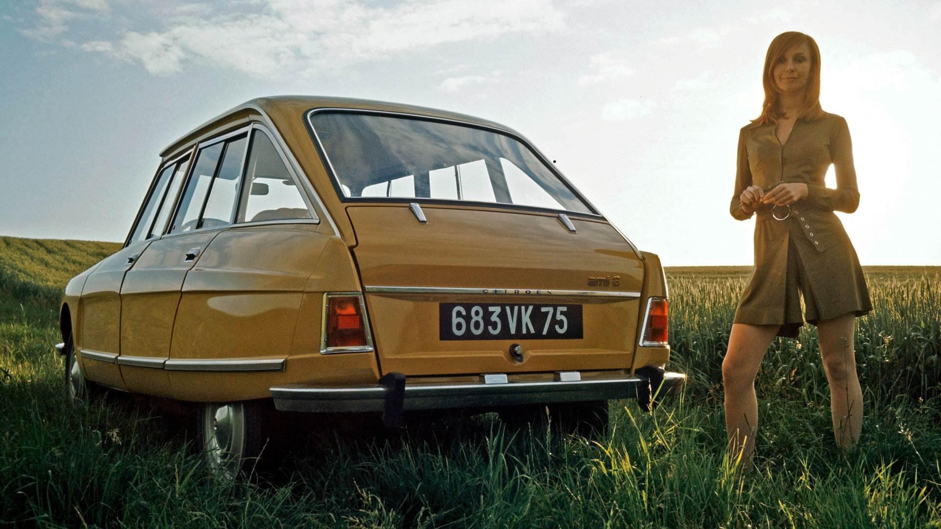 Coche del día: Citroën C8/Ami 8